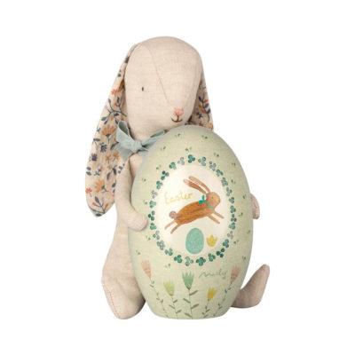 Conejo de Pascua - Maileg - huevo de Pascua - peluche