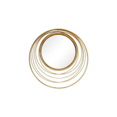 Espejo Rebeca - Ixia - metal dorado - tendencia espejos - interiorismo - Liderlamp