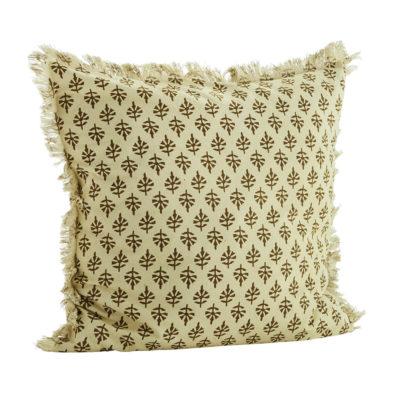Funda de cojin flores lima- madam slotz - decoracion textil - Liderlamp
