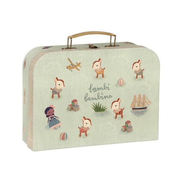 Maletin Bambi Bambino – Maileg – almacenaje infantil – caja de carton – Liderlamp