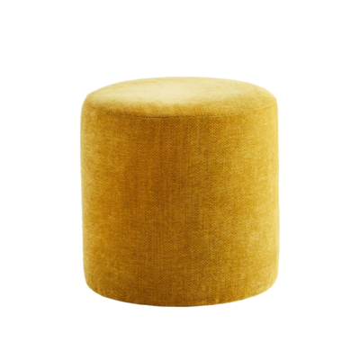 Pouf Dijon - mueble auxiliar - asiento - mostaza - Madam Slotz - Liderlamp (1)
