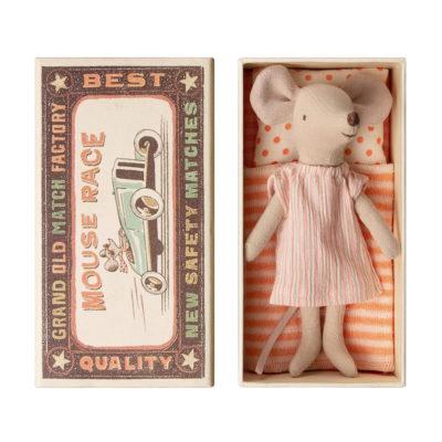 Raton - Big sister - Caja de cerillas - Maileg - decoracion infantil - Liderlamp (1)
