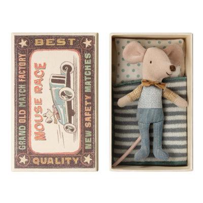 Raton - Little brother - Caja de cerillas - Maileg - decoracion infantil - Liderlamp (1)