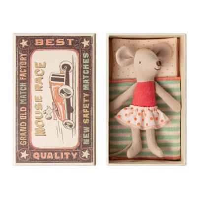 Raton - Little sister - Caja de cerillas - Maileg - decoracion infantil - Liderlamp (1)