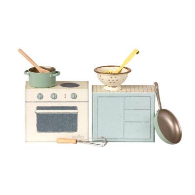 Set de cocina - Maileg - casa de munecas - juguetes vintage - Liderlamp (1)