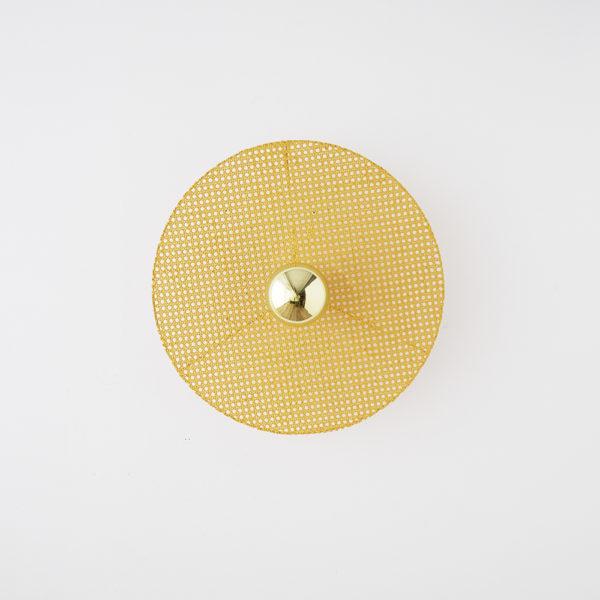 Aplique Disk – circulo de ratan – pared y techo – Aromas del Campo – Liderlamp (5)