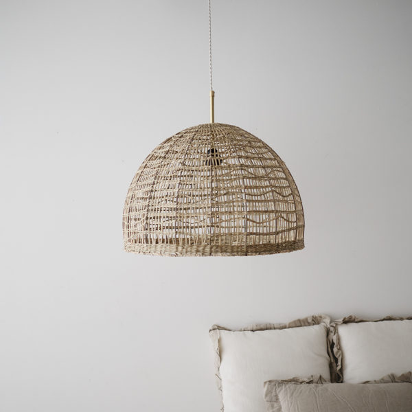 Colgante Polo – lámpara de ratón – natural chic – Liv Interiors