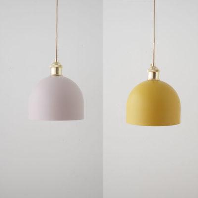 Colgante Una - mostaza y dorado - Aromas del Campo - Liderlamp (5)