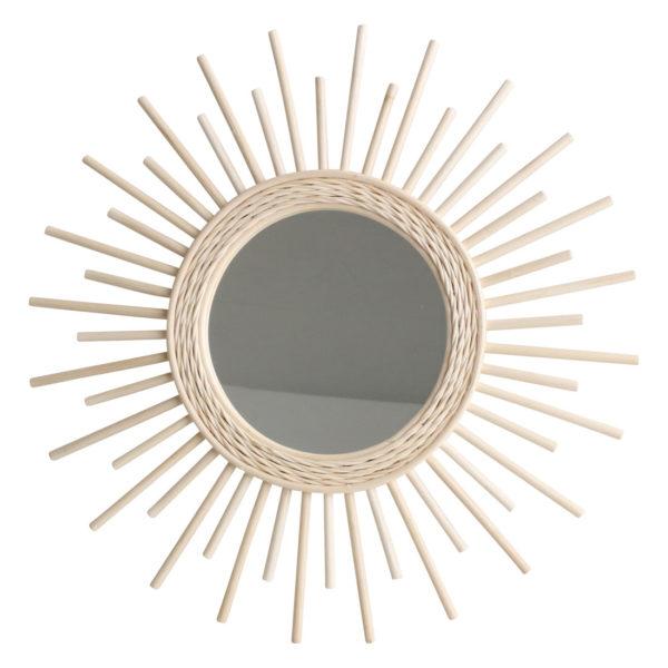 Espejo Eos – one world interiors – ratan – decoracion interior – Liderlamp