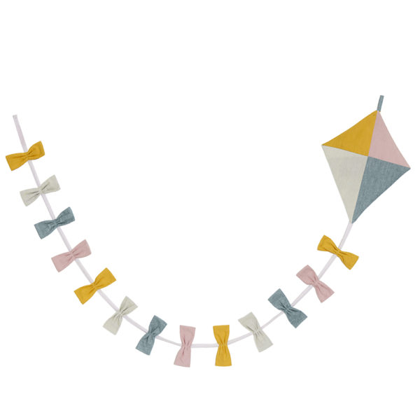 Guirnalda de cometa – Roommate – decoracion – textil – ninos – Liderlamp (1)
