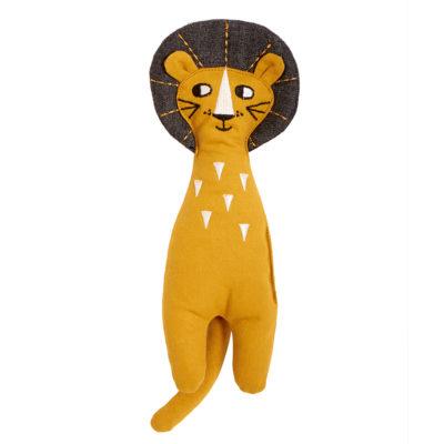 Muneco de trapo - Leon - juguetes tradicionales - Roommate - Liderlamp