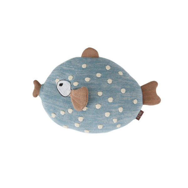 Cojin Little Finn – peces – maritimo – cojin pez algodon – oyoy – Liderlamp