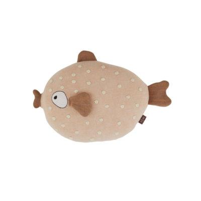 Cojin Ms. Ruth - peces - maritimo - cojin pez algodon - oyoy - Liderlamp