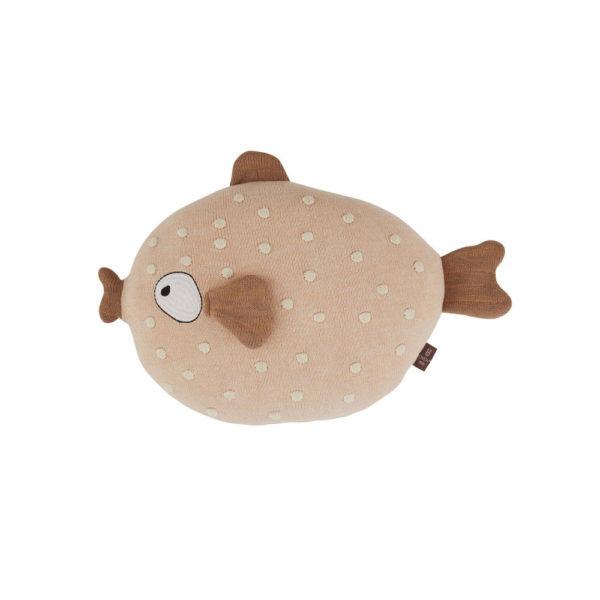 Cojin Ms. Ruth – peces – maritimo – cojin pez algodon – oyoy – Liderlamp