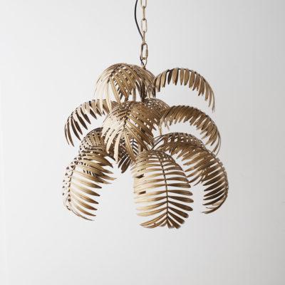 Colgante Calamus - hojas de palmera - lámprara de techo - Ixio - Liderlamp