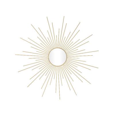 Espejo Ushas - estilo Mid Century - rayos de sol - Andrea House - Liderlamp