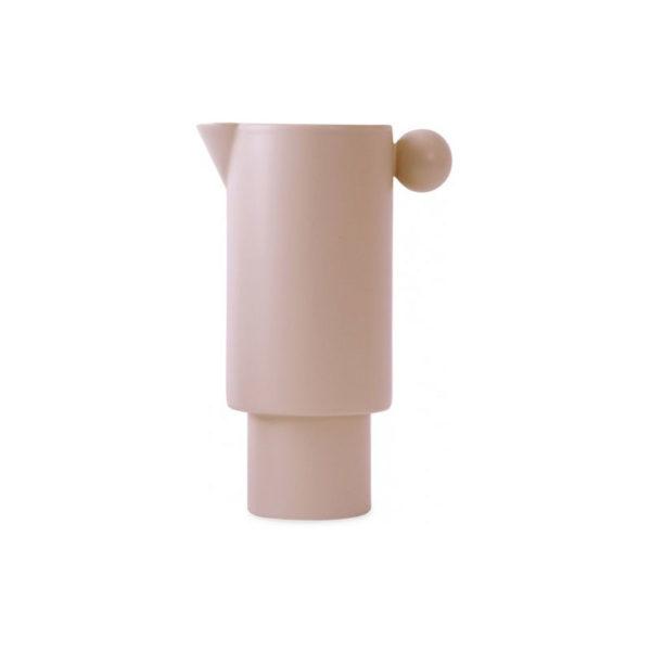 Jarra Inka – gres rosa antiguo – vajilla de diseno – Oyoy – Liderlamp