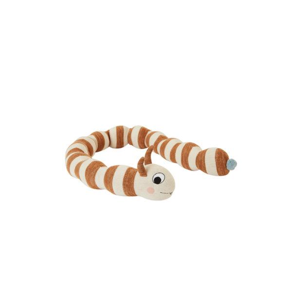 Muneco Leo Larva – algodon – juguetes infantiles – Oyoy – Liderlamp (1)