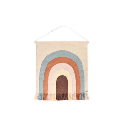 Tapiz Follow de Rainbow - lana y algodon - Oyoy - habitacion infantil - Liderlamp