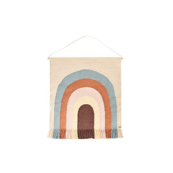 Tapiz Follow de Rainbow – lana y algodon – Oyoy – habitacion infantil – Liderlamp