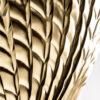 Aplique Giacomo – plumas – negro dorado – metal – Vical Home – Liderlamp (2)