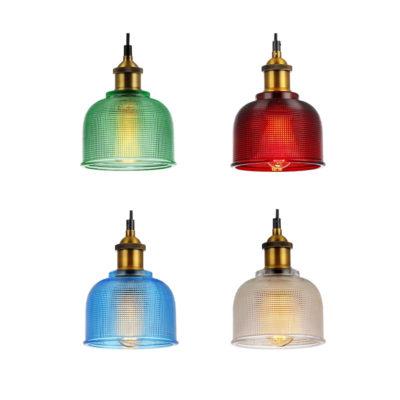 Colgante Cerana - tulipa de cristal - color - Eskriss - Liderlamp (1)