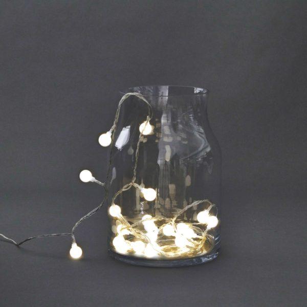 Guirnalda de luces Globe – House Doctor – decoracion con luz – Liderlamp