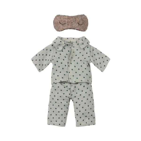 Pijama papa raton – Maileg – juguetes tradicionales – camiseta de rayas – Liderlamp (2)