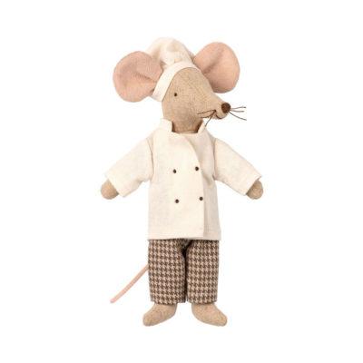 Raton Chef - Maileg - cocinero - juguetes tradicionales - Liderlamp