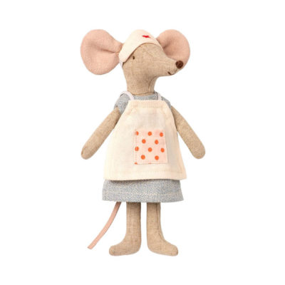 Raton Enfermera- Maileg - doctor - juguetes tradicionales - Liderlamp