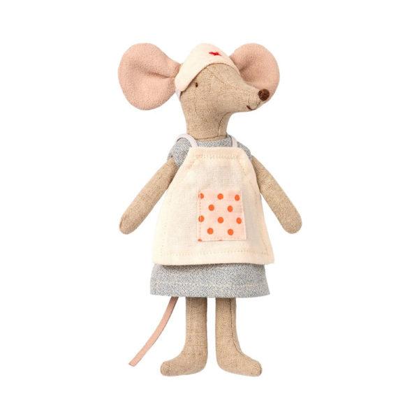 Raton Enfermera- Maileg – doctor – juguetes tradicionales – Liderlamp
