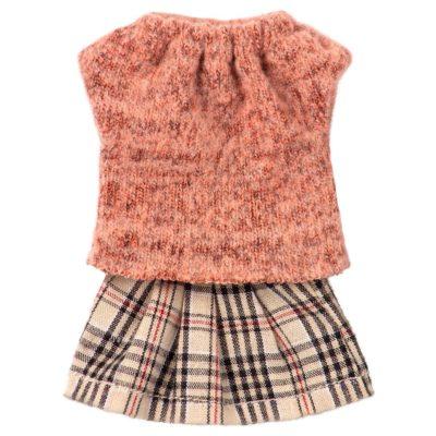 Ropa mama raton - Maileg - juguetes tradicionales - camiseta de rayas - Liderlamp