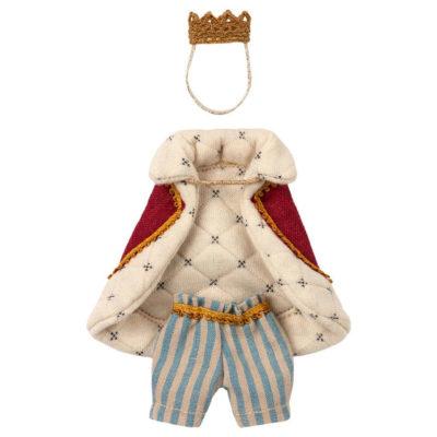 Ropajes Rey raton - Maileg - juguetes tradicionales - camiseta de rayas - Liderlamp