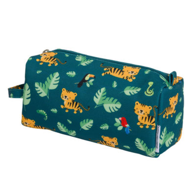 Estuche Jungle Tiger - vuelta al cole - astronauta - A little lovely company - Liderlamp (3)
