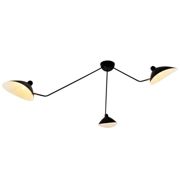 Lampara Borsalino – Eskriss – brazo articulado – acero – luz de pared – Liderlamp (2)