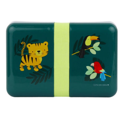 Lunch box - Jungle Tiger - A little Lovely Company - Tartera - Liderlamp (6)