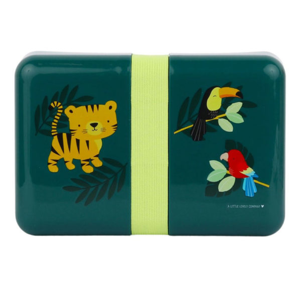 Lunch box – Jungle Tiger – A little Lovely Company – Tartera – Liderlamp (6)