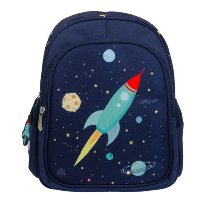 Mochila Space - A little lovely company - vuelta al cole - cohete - Liderlamp (3)