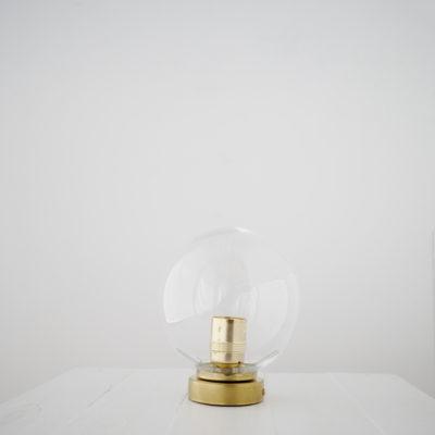 Plafon Bohemia - tulipa de cristal - labrado - opal - aplique - Liderlamp