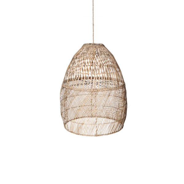 Colgante Cardelina – ratan natural – boho chic – Taller de las indias – Liderlamp