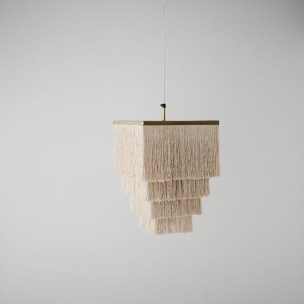 Colgante Charretera – flecos de cuquillo – boho chic – tendencia decoracion – Liderlamp