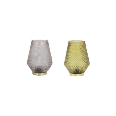 Sobremesa Tovi LED - cristal tallado - relieve - lampara de mesa - Liderlamp (2)