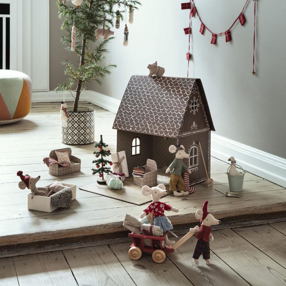 Casa munecas jengibre Maileg - Navidad - decoracion infantil - regalo ninos - Liderlamp