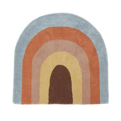 Alfombra arcoíris - textiles habitación niños - decoración infantil - oyoy
