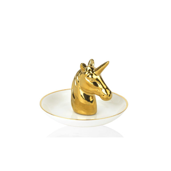 Organizador de joyas – Unicornio – Andrea House – Joyero – Ceramica – Liderlamp