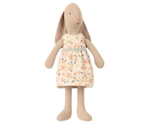 Conejo Bunny - vestido flores Maileg - peluches - juguetes vintage - Liderlamp