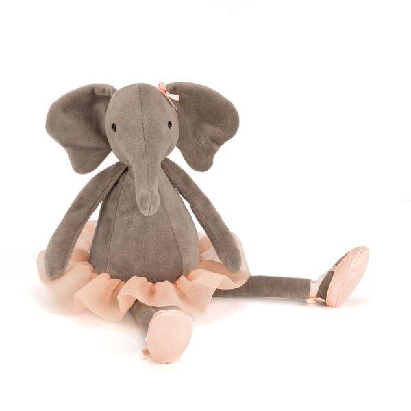Elefanta – Riverside Rambler – muneco de trapo – peluche – bailarina – Jellycat – Liderlamp