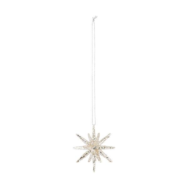 Estrella de Navidad con glitter - arbol de Navidad - House Doctor - Liderlamp (2)