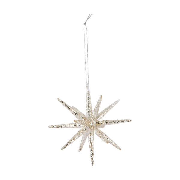 Estrella de Navidad con glitter - arbol de Navidad - House Doctor - Liderlamp