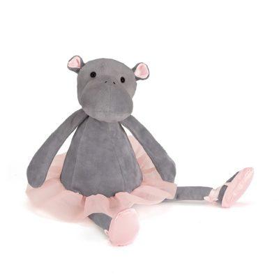 Hipopotamo - Riverside Rambler - muneco de trapo - peluche - bailarina - Jellycat - Liderlamp